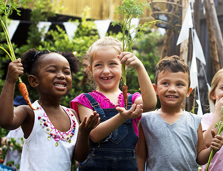 New Signup Tool is signup genius - children in garden