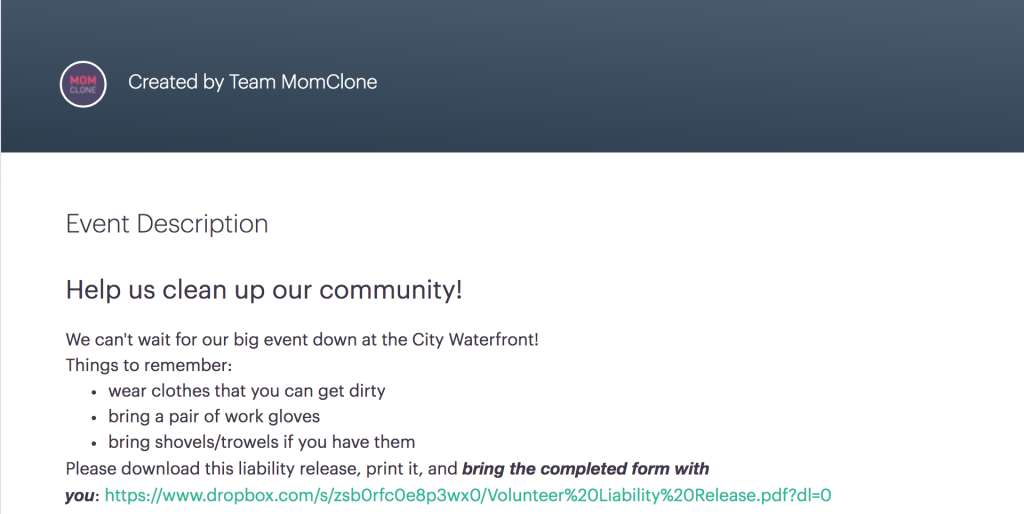 MomClone new features signup tool live link in event description